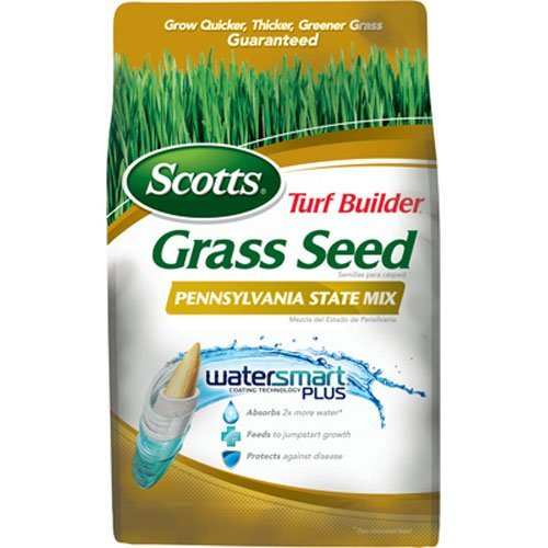 Scotts Turf Builder Grass Seed - Pennsylvania State Mix, 3-Pound  (Not Sold in CA, LA) by Scotts