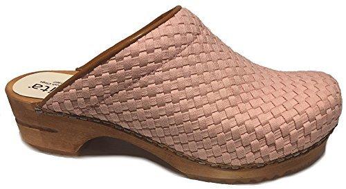 Mule Braid (Sanita Debra Braid' Textile Clogs (Art: 455959) - Nude 39)