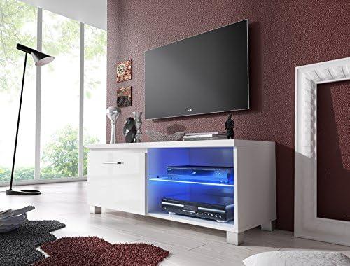 SelectionHome - Módulo salón Comedor TV, Color Blanco y Blanco ...
