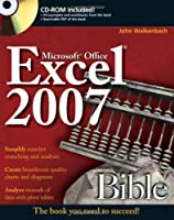 Excel 2007 Bible Front Cover