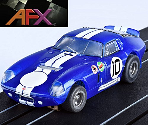 - AFX 22001 Cobra Daytona Coupe Bonneville Mega G+ HO Slot Car AFX22001