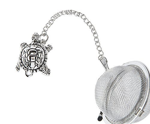 Turtle Charm Tea Infuser Ball - By Ganz (Turtle Time Tea)