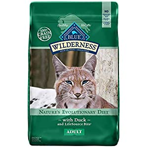 Blue Buffalo Wilderness High Protein Grain Free, Natural Adult Dry Cat Food, Chicken 17