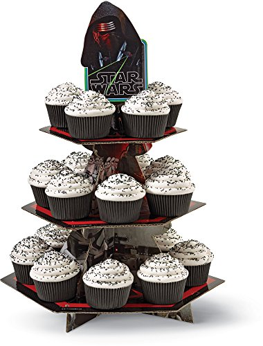 (Wilton 1512-5080 Star Wars Cupcake Stand, Multicolor)