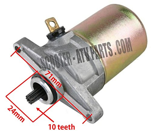 GY6 50cc Starter Chinese Scooter Parts Tank Jonway Znen Flyscooters 50QT-6 Peace (Gy6 Starter 50cc compare prices)