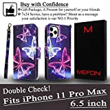 Mefon iPhone 11 Pro Max Case Wallet Leather