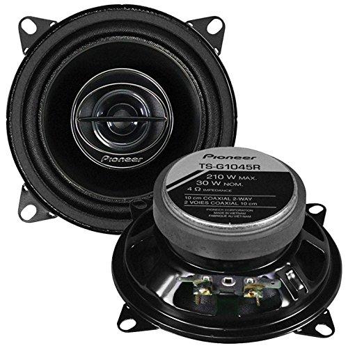 4 Way 2 Way Speakers (Pioneer TSG1045R 4-Inch 210W 2-Way Car Speakers)