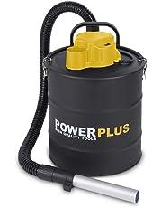 PowerPlus POWX300 Aspirador de Cenizas, 1200 W, 240 V, Negro Amarillo, 20 Litros