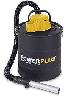 PowerPlus POWX300 Aspirador de Cenizas, 1200 W, 240 V, Negro Amarillo, 20