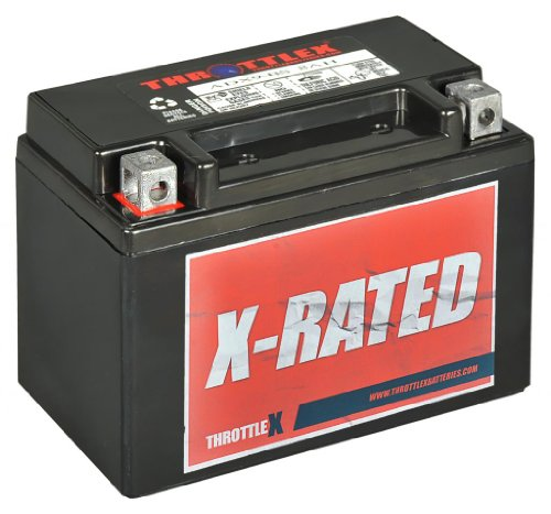 ThrottleX Batteries - ADX9-BS - AGM Replacement Power Sport
