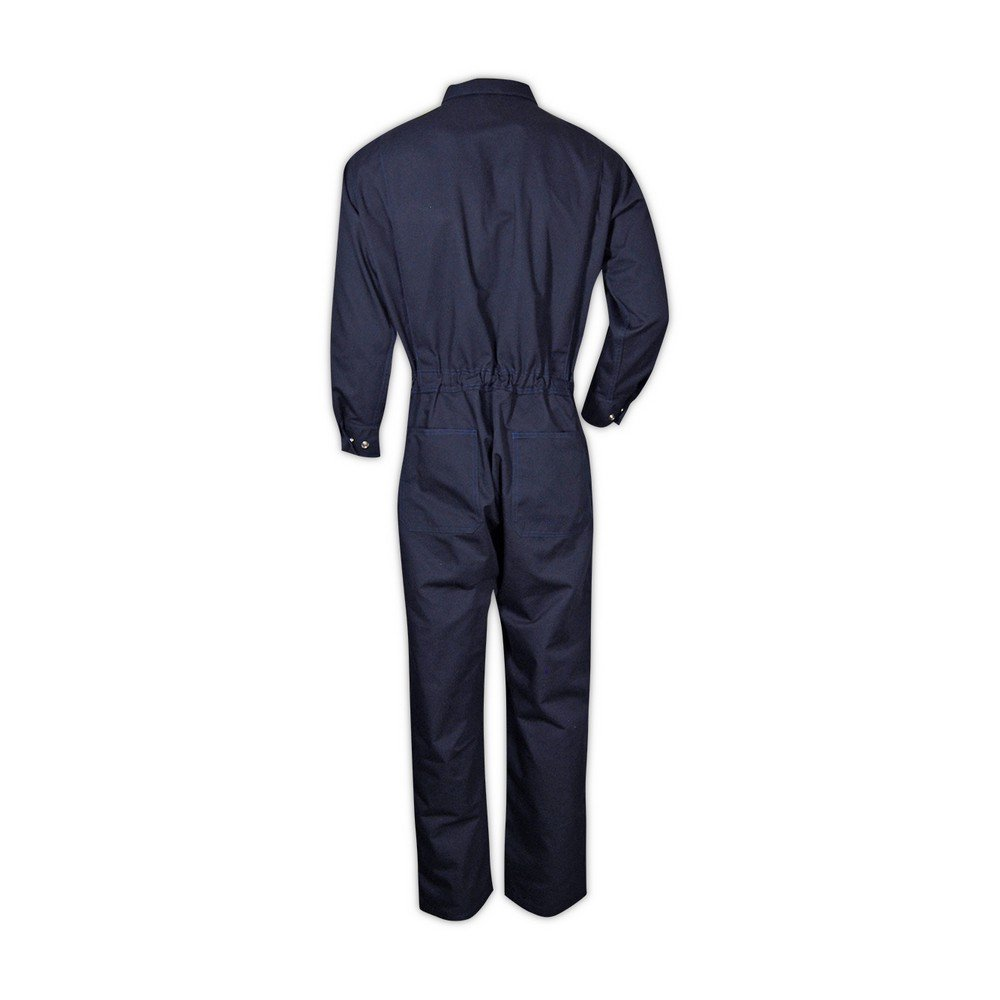 Magid Glove & Safety CBN65DHXXXL CBK65DH/CBN65DH Dual-Hazard 6.5 oz. FR 88/12 Contractor Coveralls, Navy, 3XL, Flame Resistant Cotton Blend by Magid Glove & Safety (Image #3)