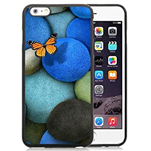 New Beautiful Custom Designed Cover Case For iPhone 6 Plus 5.5 Inch With Lonely Butterfly Phone Case