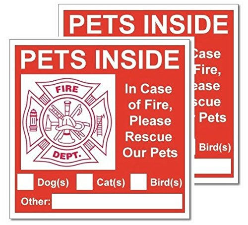 2 Pets Inside Signs; 6