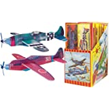 FOAM WWII ASSORTED GLIDERS (BOX of 12 different planes 48 in total)