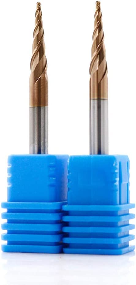 Drill Bit Sets 1pc Tungsten Solid Carbide Ball Nose Tapered End Mill Wood Metal CNC Taper Milling Cutter Ball Nose End Mill 4mm 6mm 8mm-R1X60XD8X100L R1.5x60xd8x100l