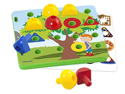 Amazon.com: Miniland Activity Pegs: Toys & Games