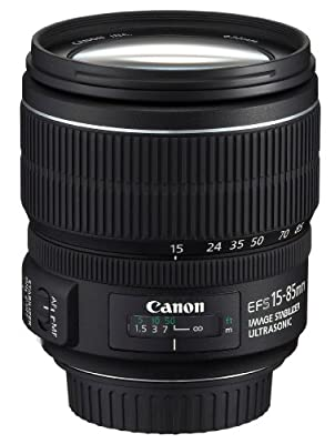 Canon EF-S 15-85mm f/3.5-5.6 IS USM UD Standard  Zoom Lens for Canon Digital SLR Cameras by Canon Cameras