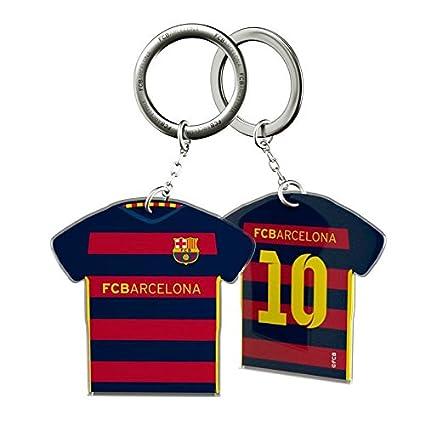 Oficial llavero FC BARCELONA forma camisa casa: Amazon.es: Bebé