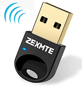 Bluetooth Adapter for PC USB Bluetooth 4.0 Dongle Wireless Micro Adapter Support Laptop Desktop Stereo Headset, Keyboard, Mouse,Windows 10 8.1 8 7 XP Vista