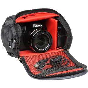Panasonic Digital Camera Carrying Case (Black) Compatible with FZ Series Lumix Cameras from PANASONIC