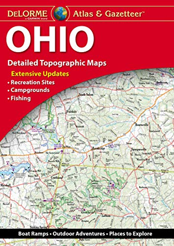 DeLorme Ohio Atlas & Gazetteer