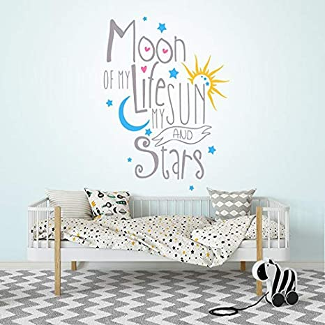 Amazoncom Moon Of My Life My Sun And Stars Wall Decal Game Of