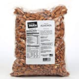 Fast Fresh Nuts - Whole Almonds in a Handy Bulk-Bag 5 lbs