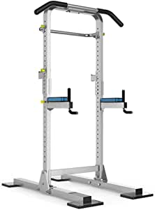 GUOOK Fitness Pull-up Device Home Barra Horizontal Multi-función Rack en Cuclillas Barras paralelas Ajustables Levantamiento de Pesas Barra de Pesas Equipos Peso de Carga 300 kg: Amazon.es: Hogar