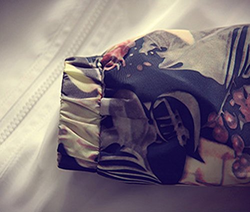 d3db8f0f9d30e Momtuesdays2 Floral Bomber Jacket Men Hip Hop Slim Fit Flowers Bomber  Jacket Coat Men s Hooded Jackets Plus Size at Amazon Men s Clothing store