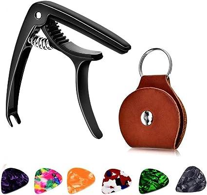 Guitarra Capo, Zinc Metal Capo Accesorios de guitarra acústica ...