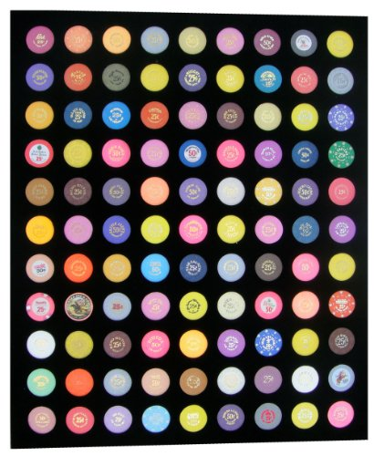 (Tiny Treasures, LLC. 20 X 24 Black Insert - Holds 99 Casino Poker Chips (Not Included))