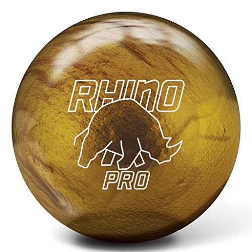 Brunswick Vintage Gold Rhino Pro Bowling Ball (15lbs)