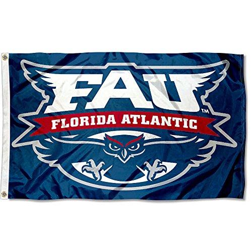 Fau Owls (Florida Atlantic Owls FAU University Large College Flag)