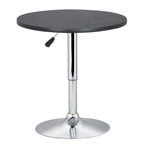 Yaheetech Tavolo Tavolino Alto da Bar Girevole Moderno da Cucina ...