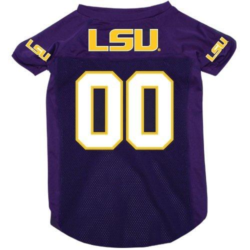- Louisiana State LSU Tigers Pet Dog Football Jersey XL