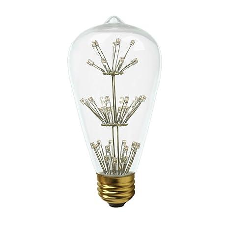 Dr. Proyección, ST19, 1,5 W Vintage Edison luces, estilo ...