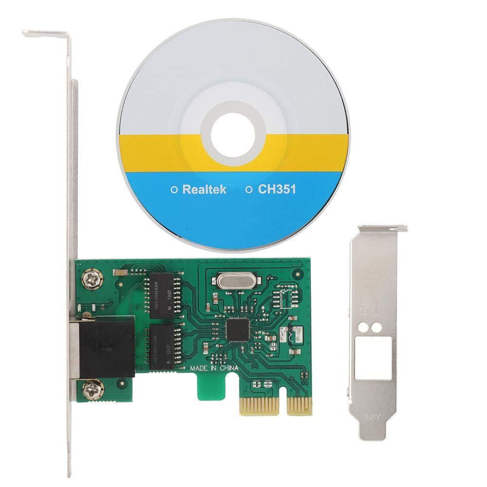 ASHATA Tarjeta de Red Gigabit, procesador RTL8111F Adaptador ...
