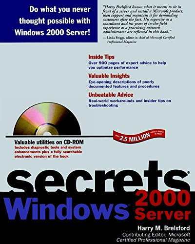 Windows 2000 Server Secrets: Amazon.es: Brelsford, Harry M.: Libros en idiomas extranjeros
