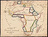 Historic Map | 1831 Africa | Antique Vintage Reproduction