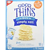 Good Thins Rice Thins Simply Salt Saltines, 100g