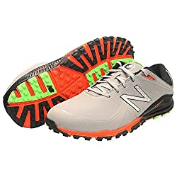 New Balance Men's Minimus Golf Shoe, Greyorange, 11 D Us