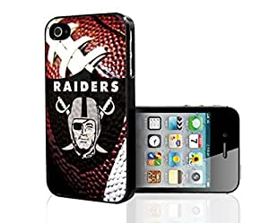 Oakland Raiders Football Sports Hard Snap on Phone Case (iPhone 4/4s)
