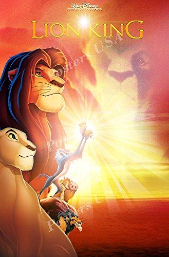 Posters USA Disney Classics The Lion King Poster - DISN082 )