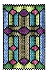 Jet Cross Beaded Banner Kit - Beadery - 5991
