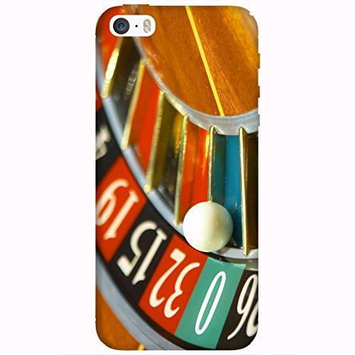 Coque Apple Iphone 5-5s-SE - Bille roulette casino
