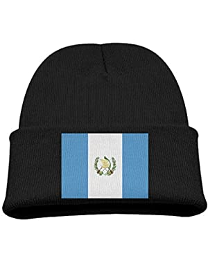 Guatemala Flag Kid's Hats Winter Funny Soft Knit Beanie Cap Children Unisex