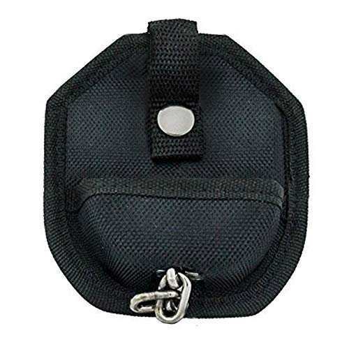 Open Handcuff Pouch Open Top Paddle Style Quality Stiched and Solid Nylon Case Button Snap Closure with Solid Steel Button Tight Gripping Belt Loop on Back Fits Belt Sizes Up to 2.5 Inches in Width