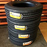 Set of 4 (FOUR) Cosmo CT588 Plus Commercial All-Season Radial Tires-225/70R19.5 128/126M LRG 14-Ply