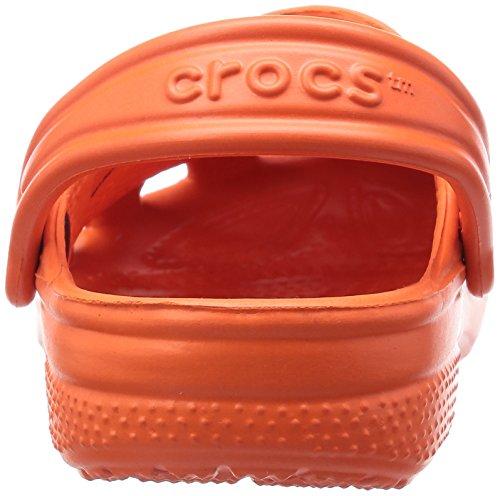 Crocs Classic Kids, Sabots Mixte enfant, Chocolat Rouge (Tangerine)