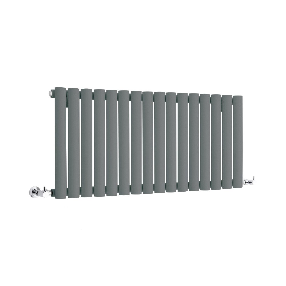 Hudson Reed - Radiateur Horizontal Gris Anthracite - Vitality - 40 X 100 CM 691 Watts
